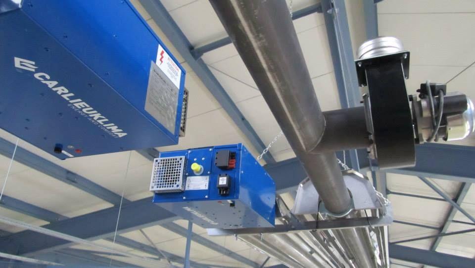 Монтаж и обслуживание газовых инфракрасных обогревателей в саратове