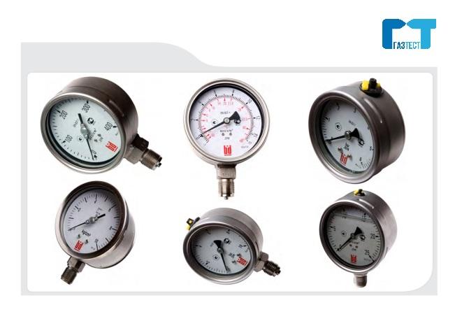 Манометры газ-тест