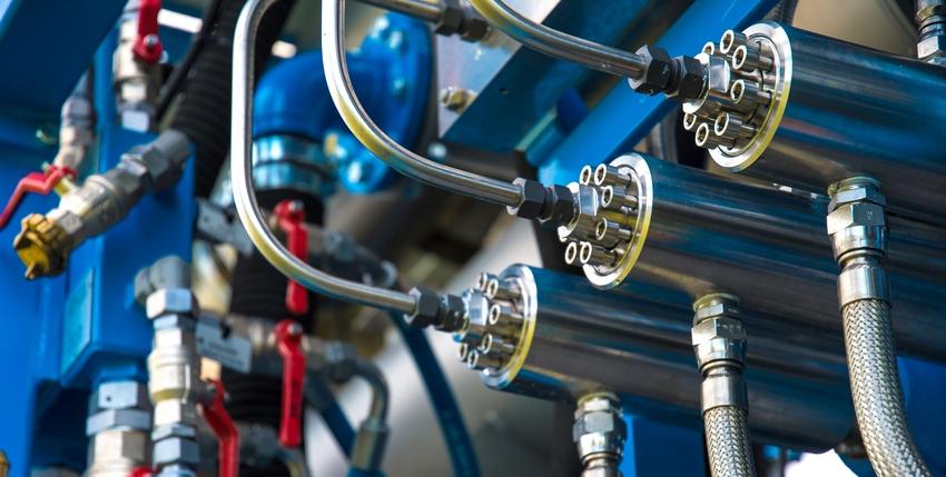 Газовые фитинги трубные обжимные