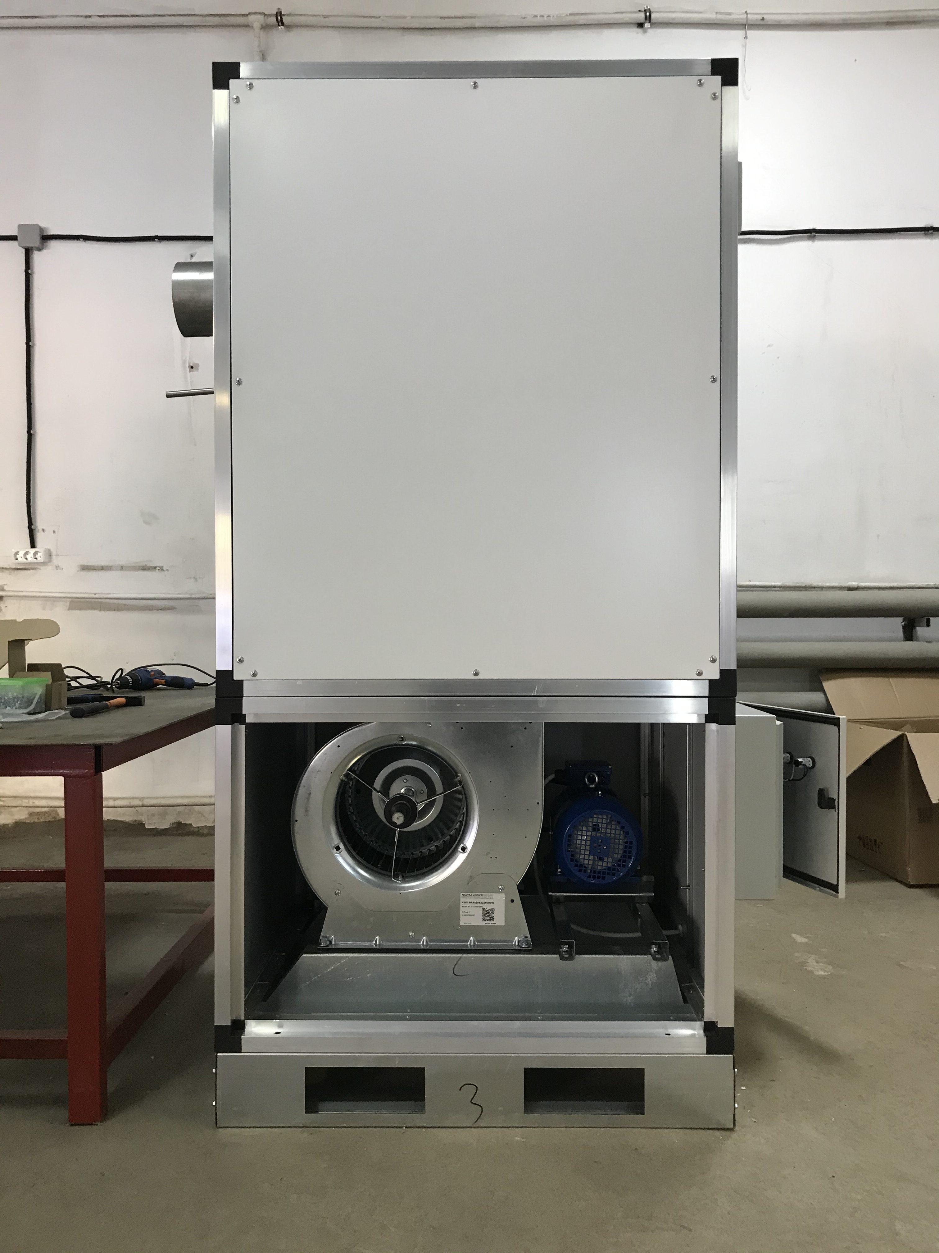 Производитель газовых воздухонагревателей BORG AIR 80