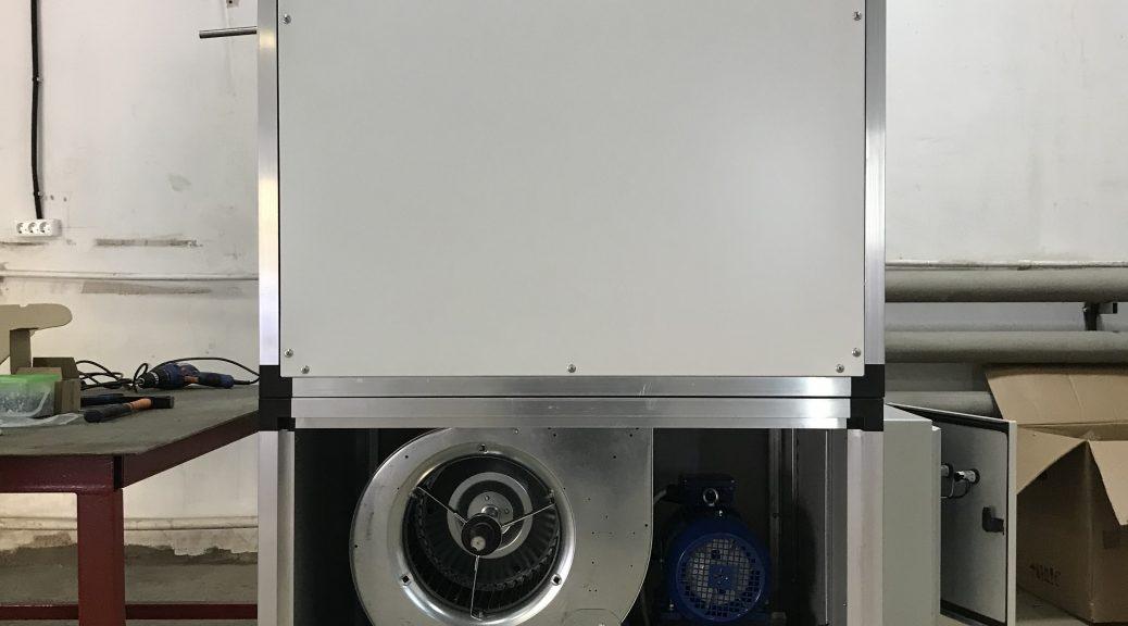 Производство газовых воздухонагревателей Borg Air