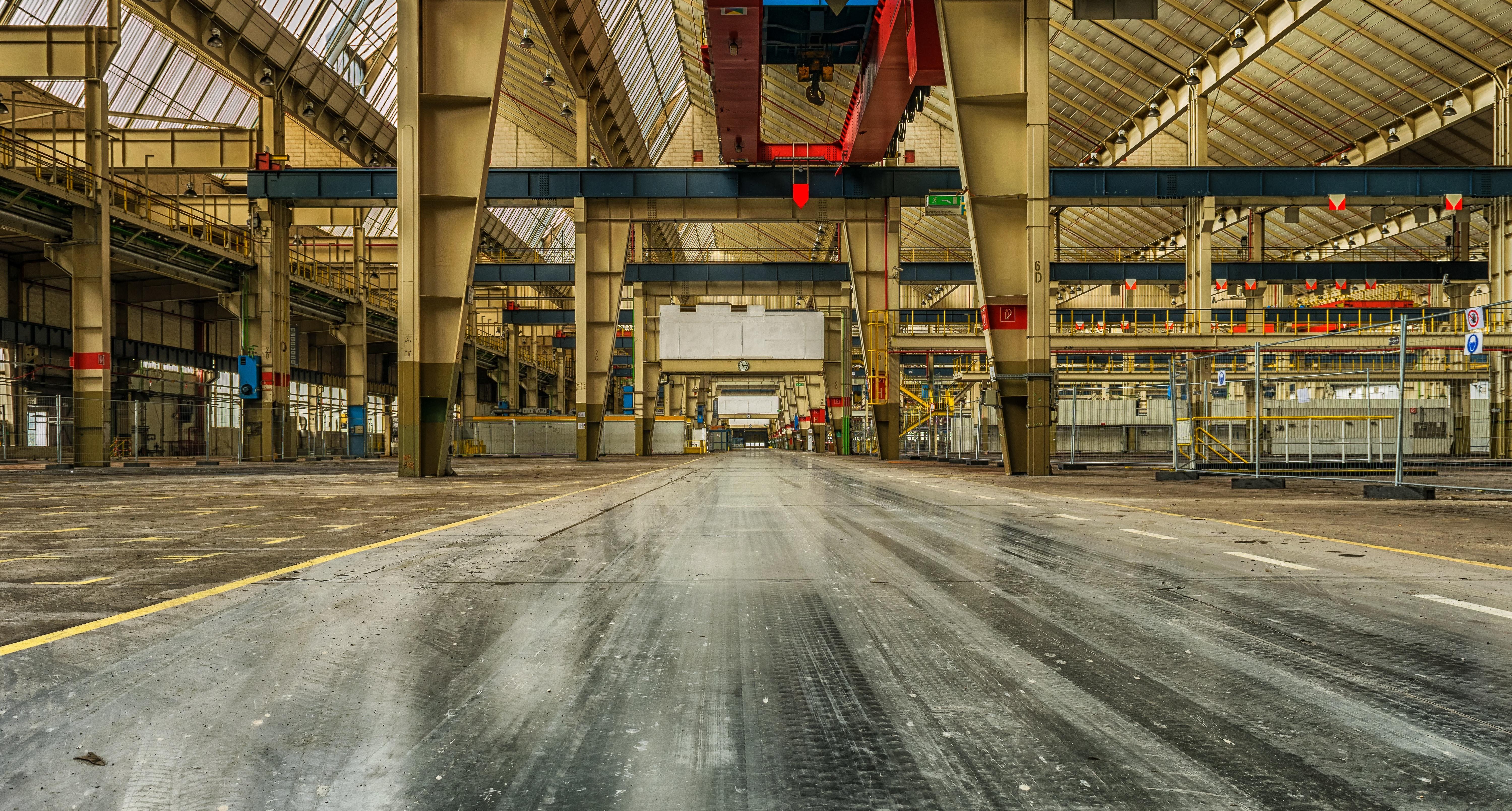 Отопление промышленных помещений