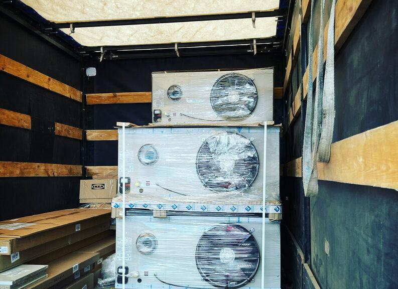 Купить подвесной газовый теплогенератор в Самаре