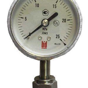 Манометр с трубчатой пружиной для сверх чистых сред (счс) тип ДМ (модификация 3)