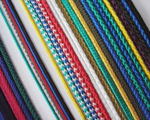 Шнуры плетенные без сердечника