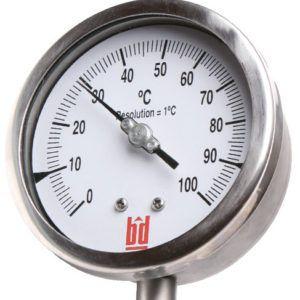 Биметаллический термометр ТБ - Саратов