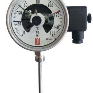 Биметаллический термометры с электроконтактами ТБ