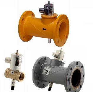 клапан электромагнитный газовый запорный