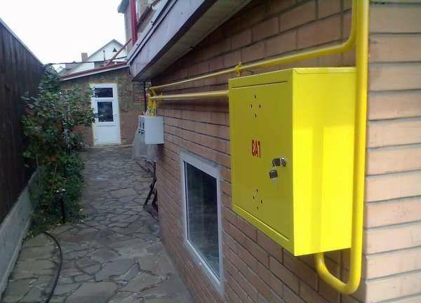 Газопровод подключ