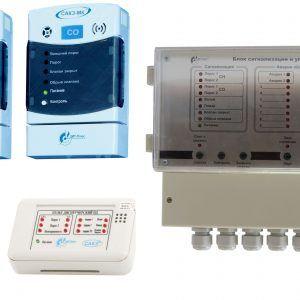 Система автоматического контроля загазованности САКЗ-МК®-3