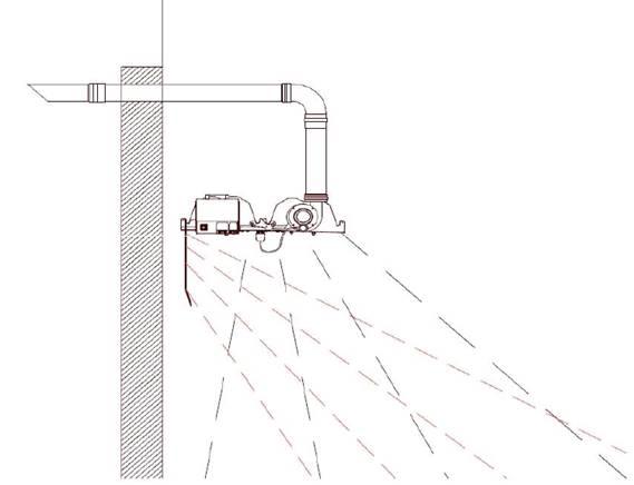 Монтаж бокового рефлектора