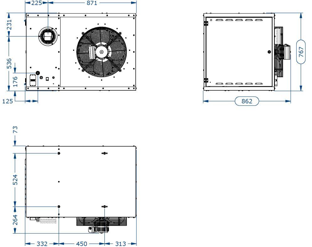 Подвесной газовый теплогенератор EUGEN S 50
