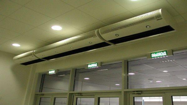 Завеса воздушная для магазина