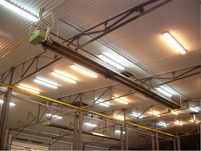 Газовые инфракрасные обогреватели и керамические пластины