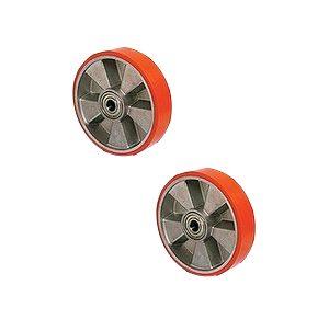 Колесо б/подш полиуретан 180х50мм для модели AC DF