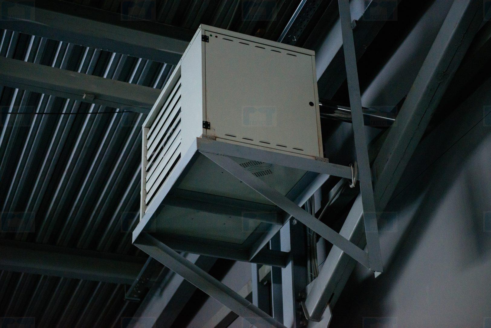 Воздушное отопление автосалона подключ