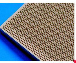 Керамическая пластина для газового обогревателя
