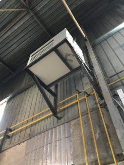 Воздухонагреватель промышленный газовый