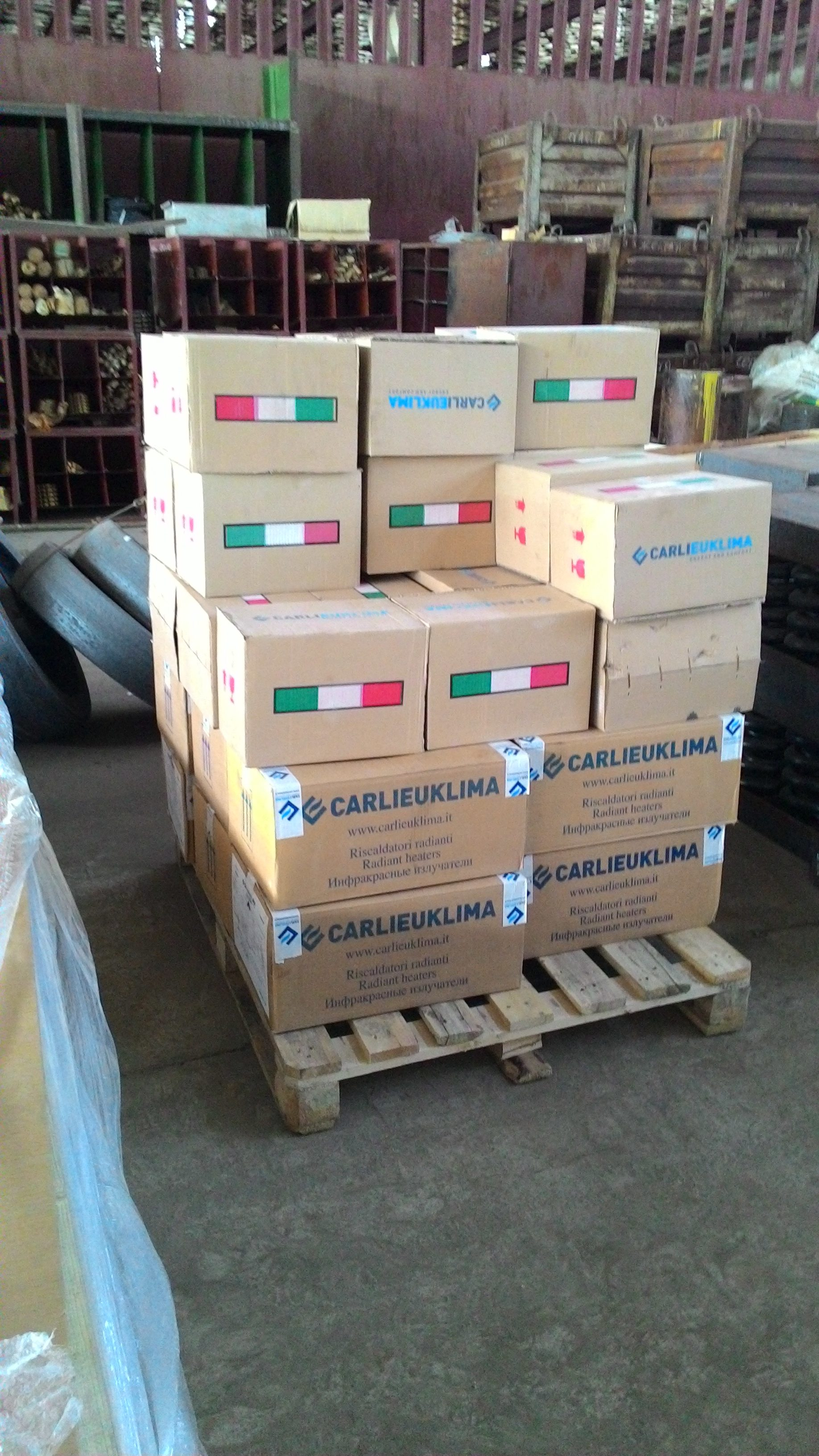 Carlieuklima eurad доставка в Челябинск