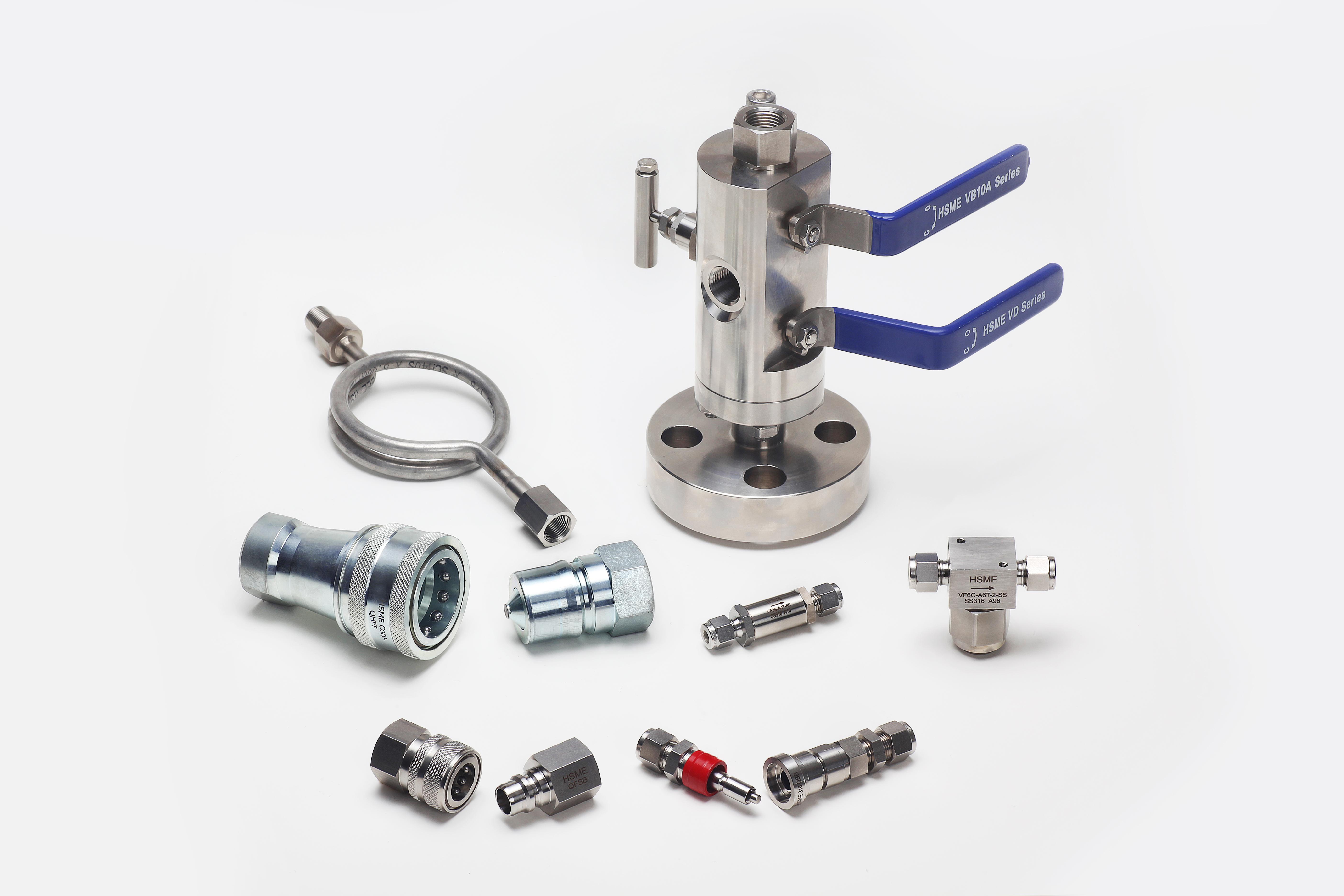 HSME клапаны и фитинги
