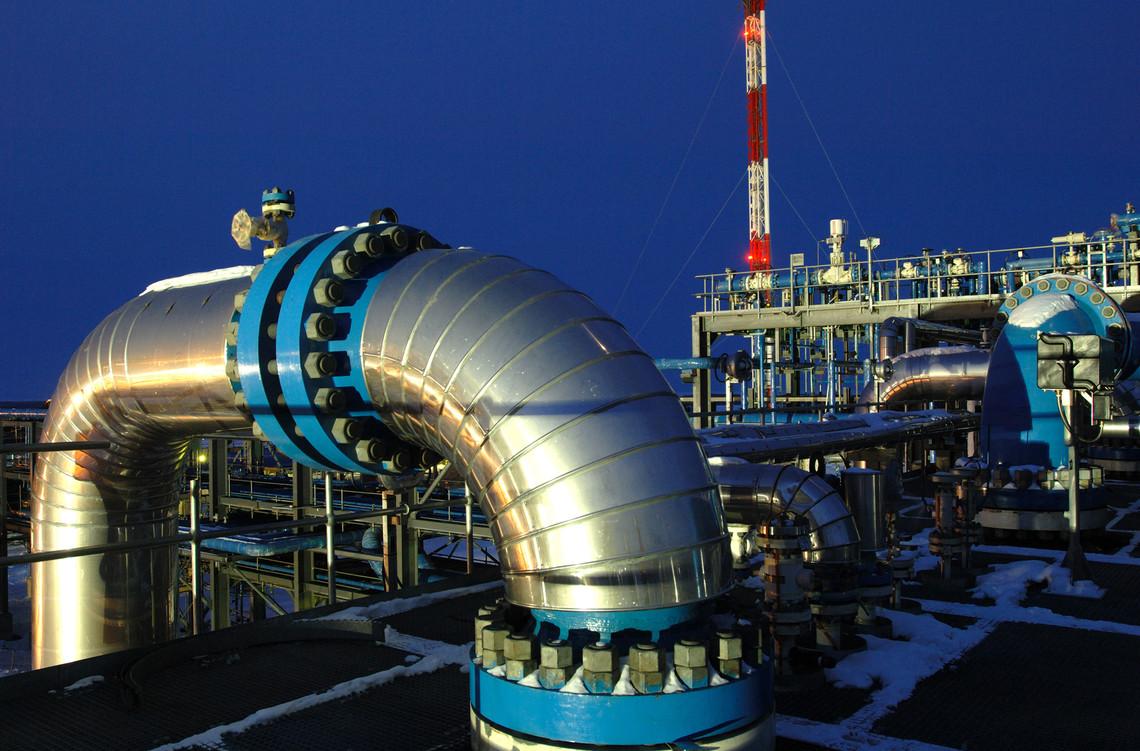 Природный газ в России