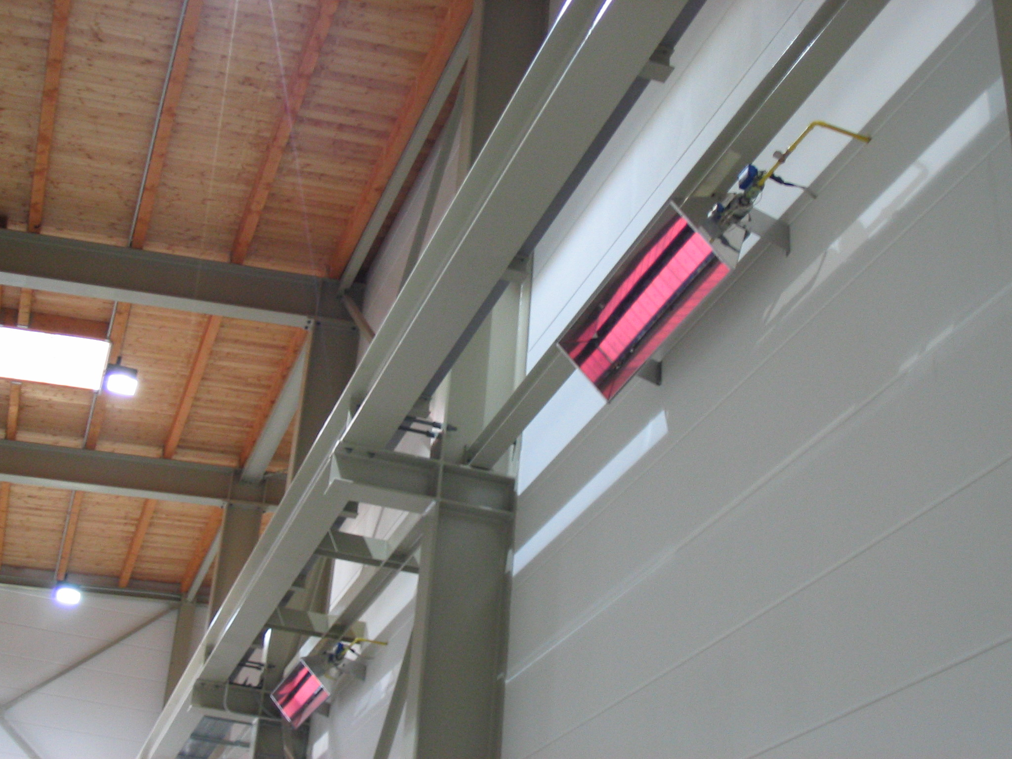 Газовые инфракрасные обогреватели керамические