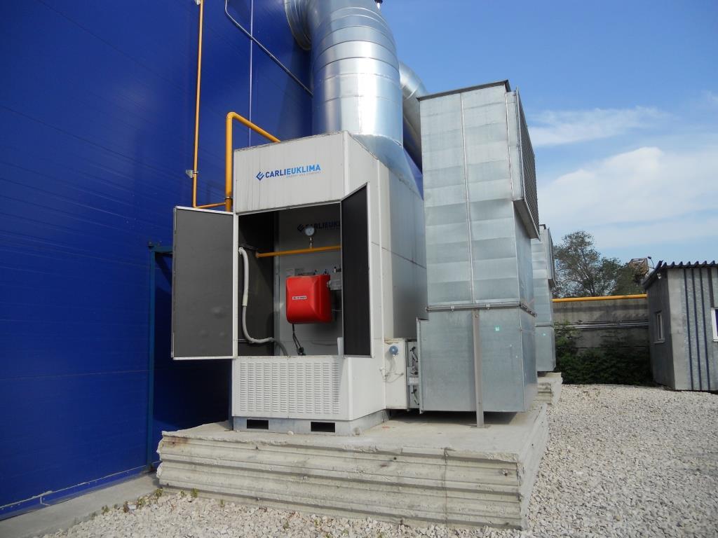 Газовые воздухонагреватели промышленные