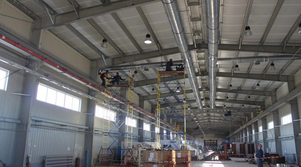 Промышленные системы воздушного отопления