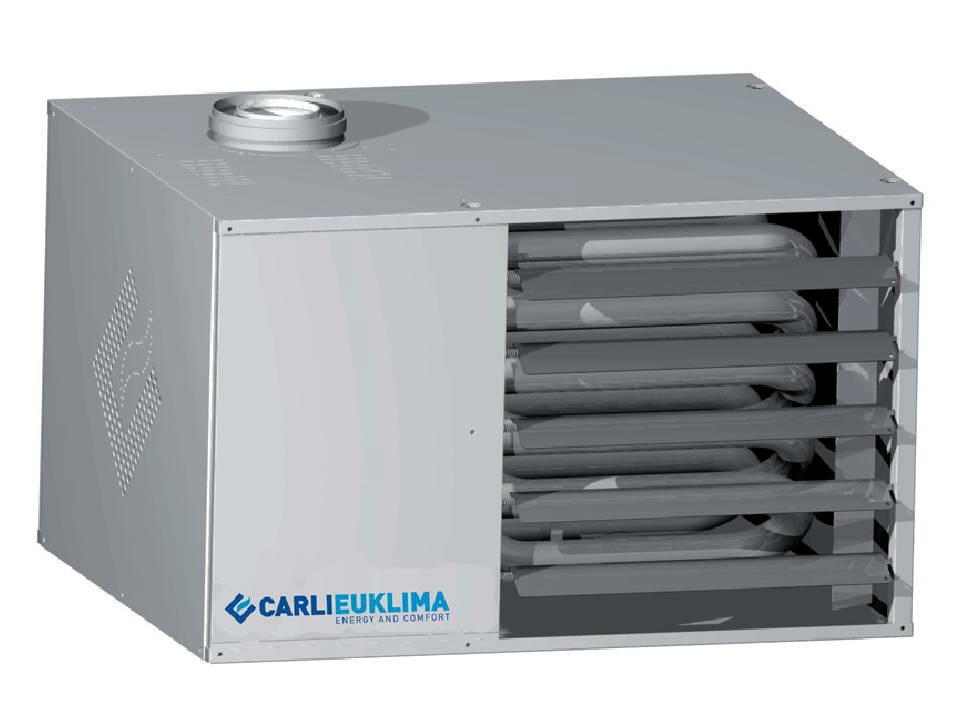 Теплогенератор воздушный газовый EUGEN S
